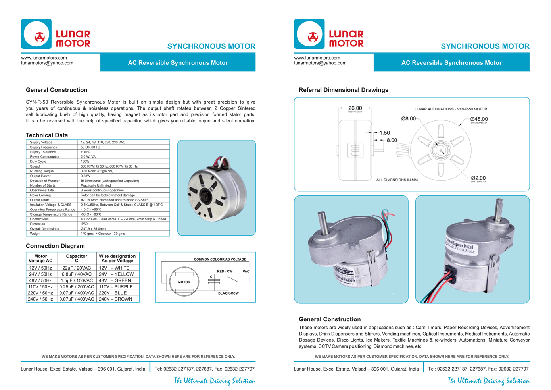 Synchronous Motor – lunar